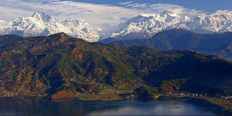 Pokhara day hiking-Shanti Stupa