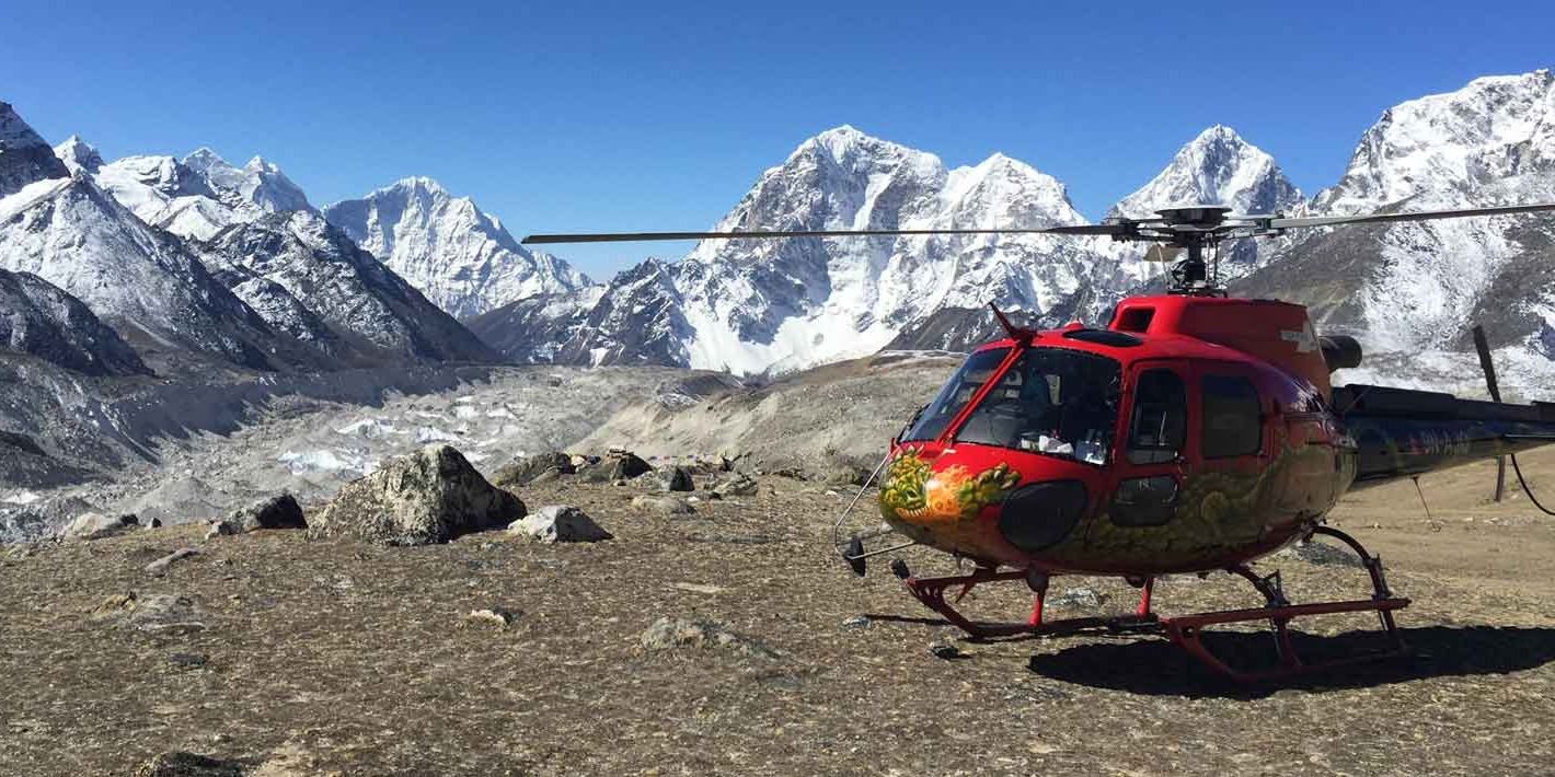 Everest Base Camp Heli Trekking